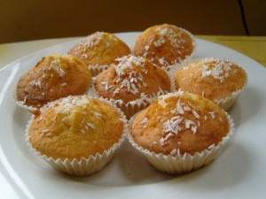 Lemon and Coconut cakes